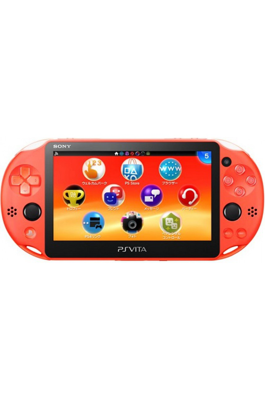 PS Vita Slim Wi-Fi Neon Orange