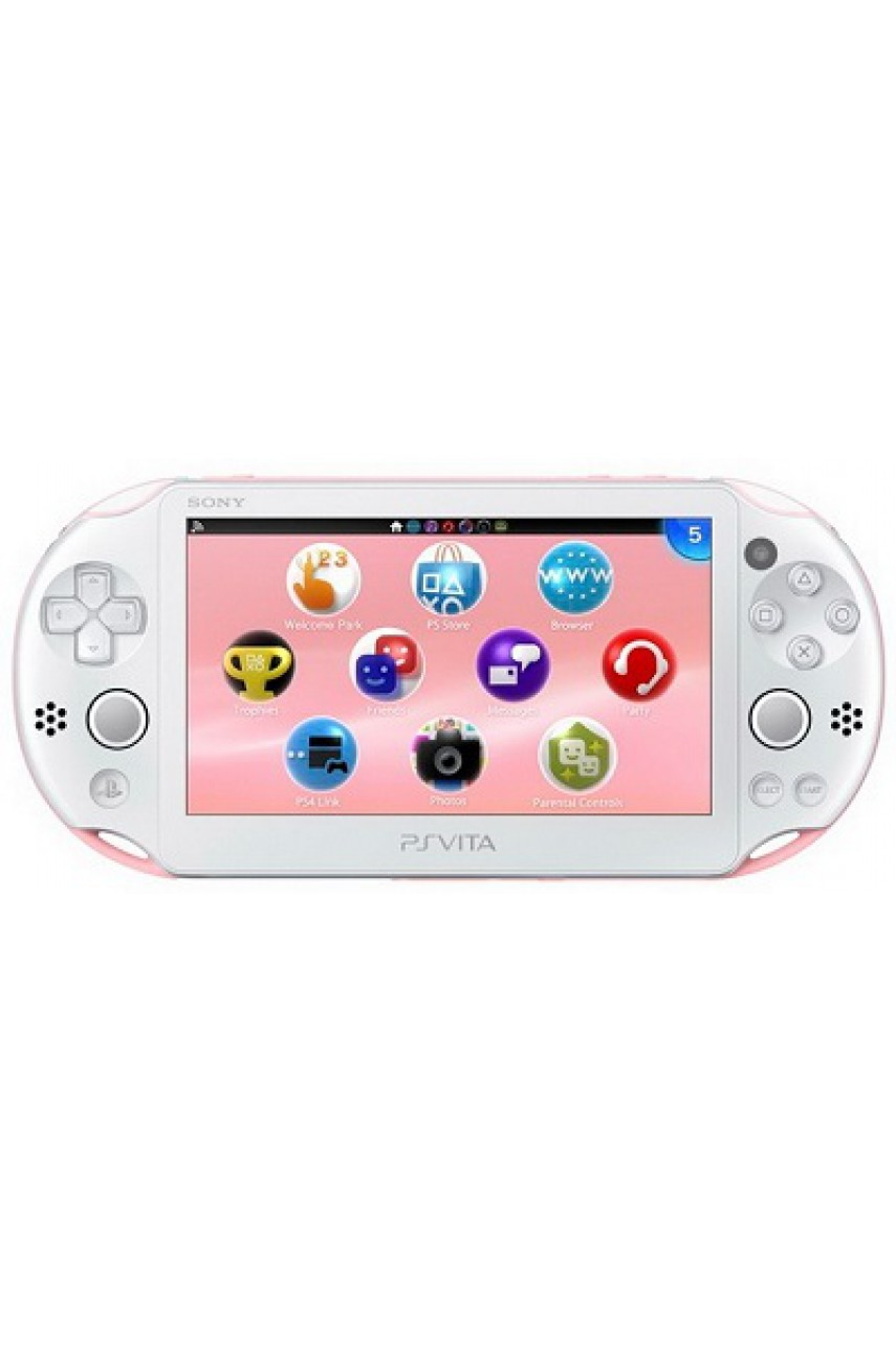 PS Vita Slim Wi-Fi White/Pink