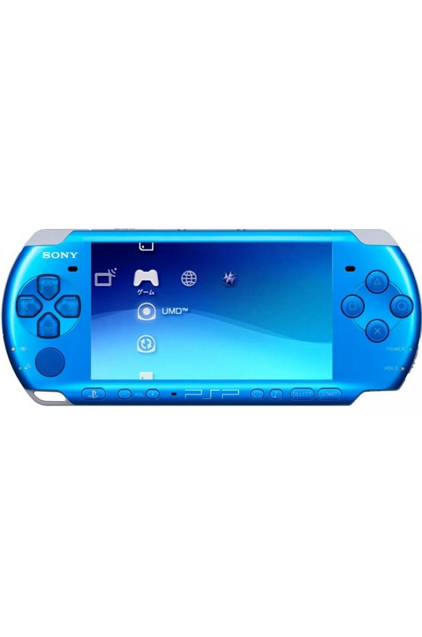 Sony PSP Slim (синяя) - Б/У