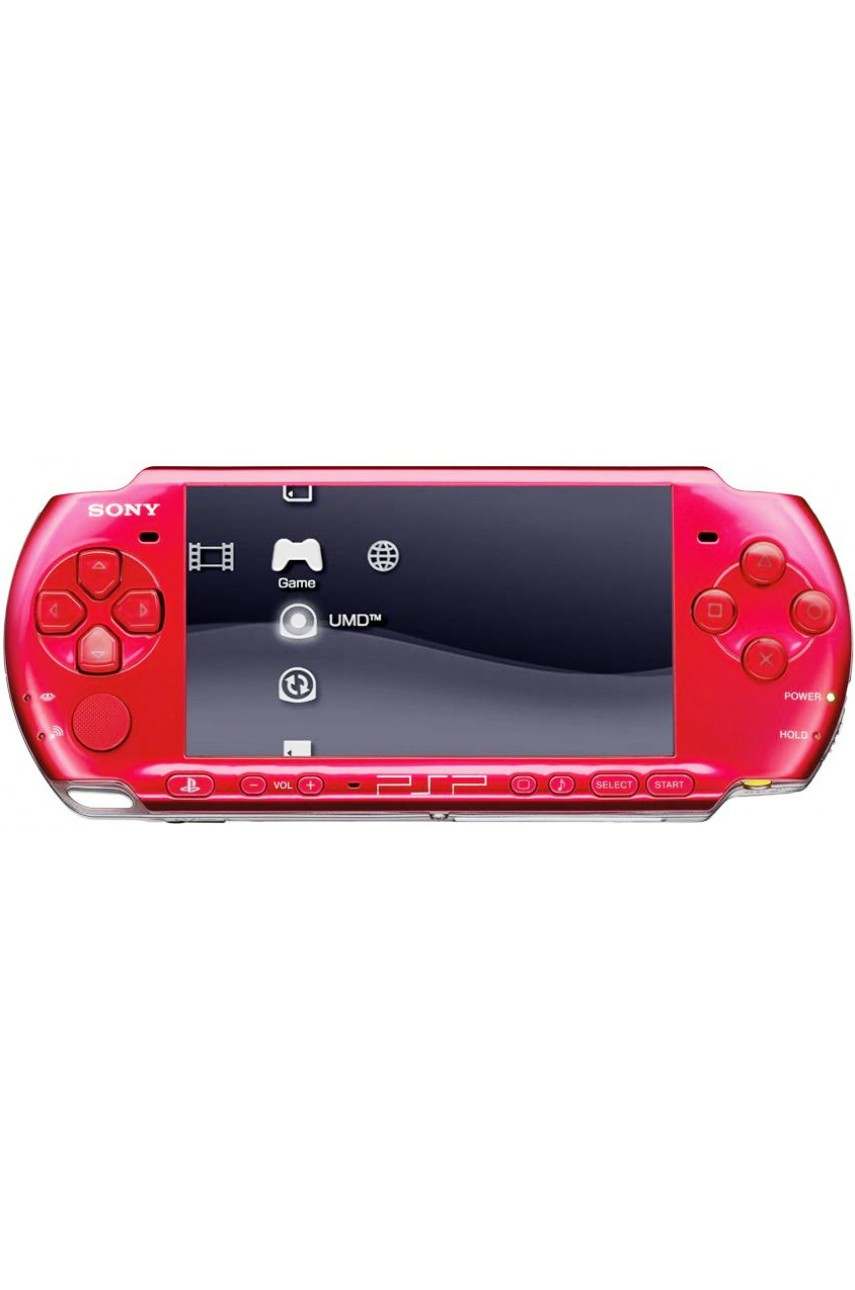 PSP 3000 Slim Red (Ref Sony)