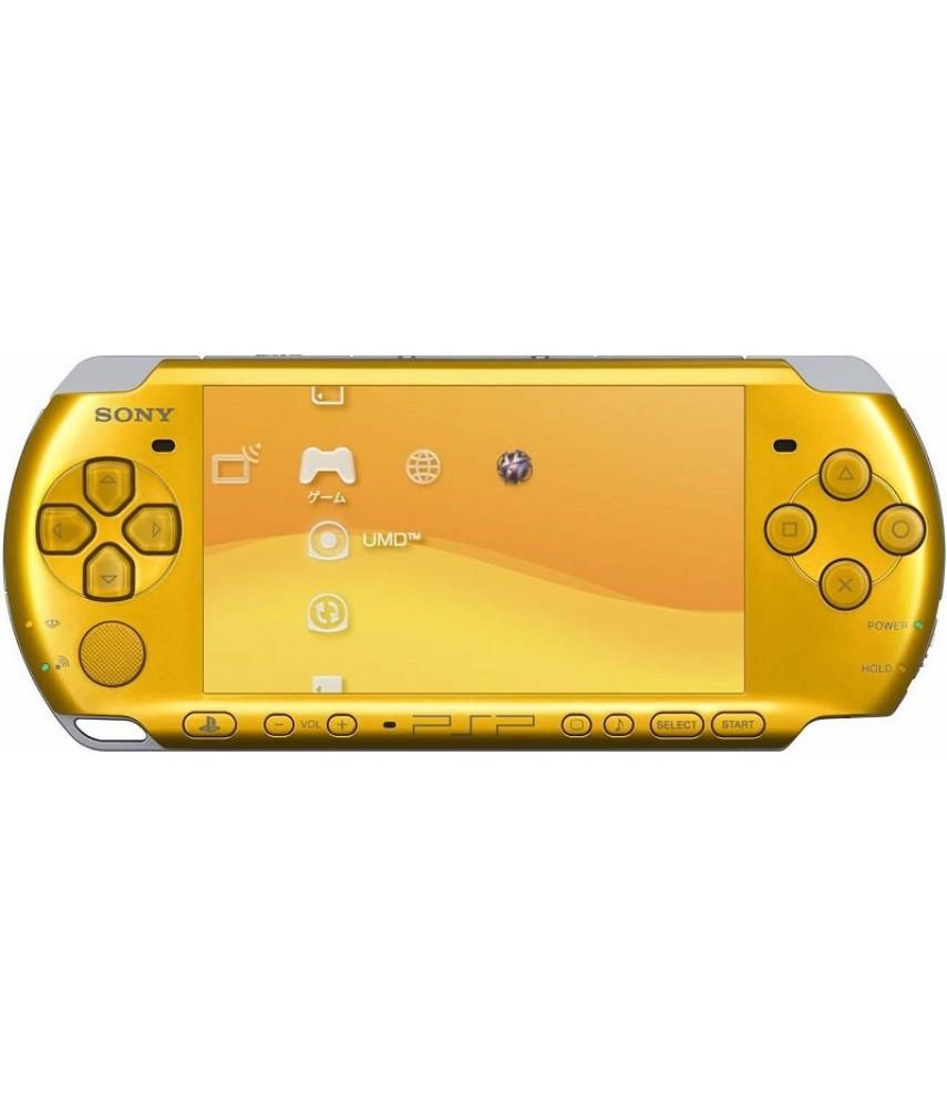 PSP 3000 Slim Yellow (Ref Sony)
