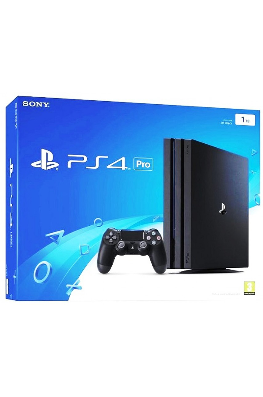 Sony PlayStation 4 Pro 1TB Black (CHU-7216В)