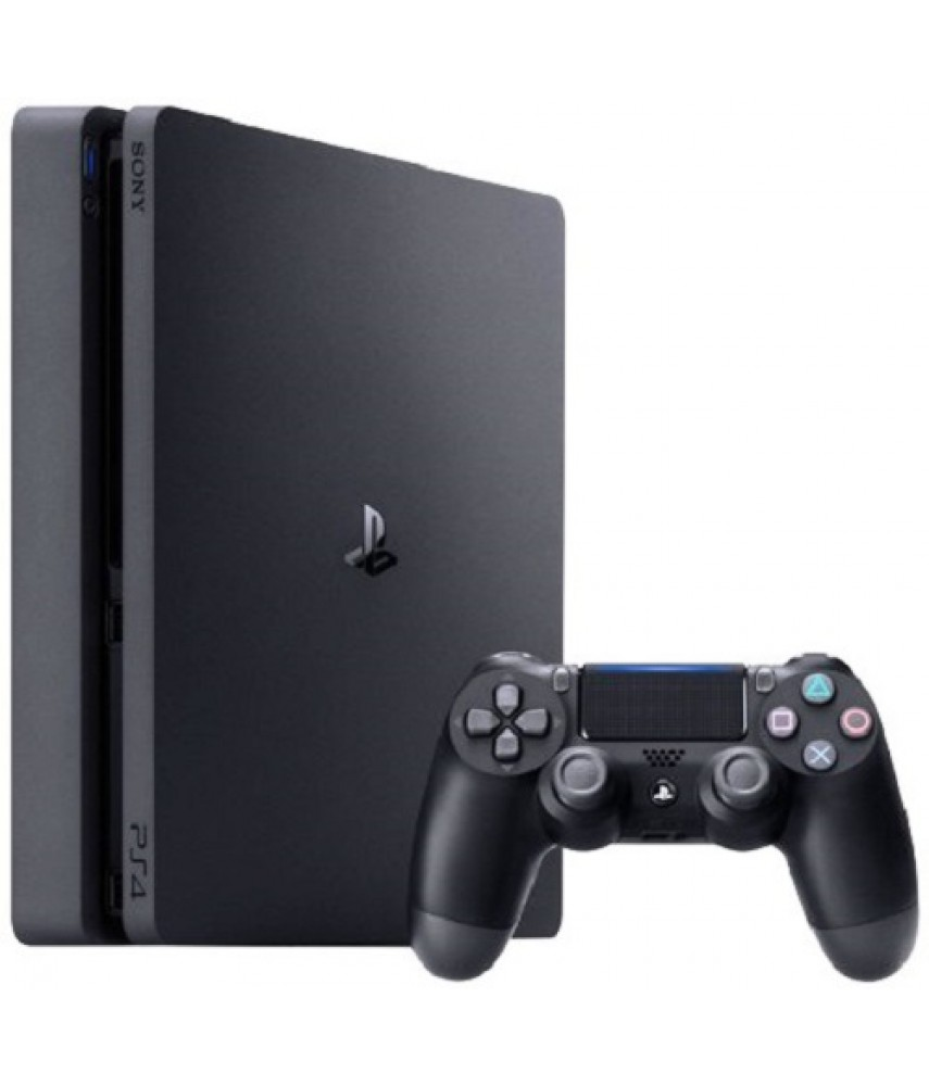 Sony PlayStation 4 Slim 1TB Black - Б/У