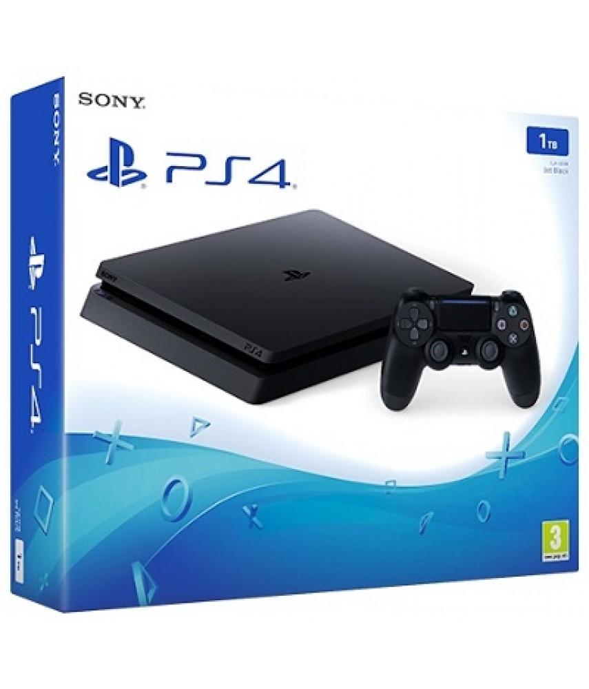 Sony PlayStation 4 Slim 1TB Black (CUH-2216B)