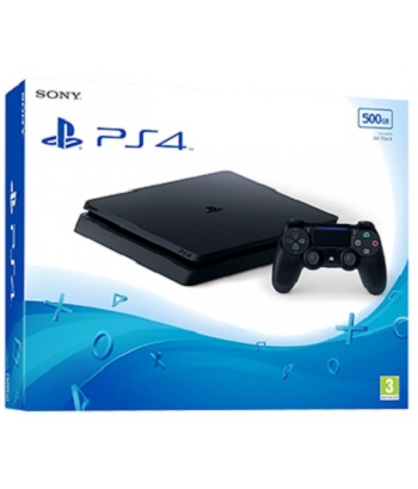 Sony PlayStation 4 Slim 500 Gb Black (CUH-2216A)