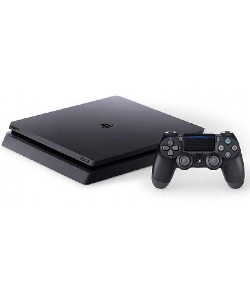 Sony PlayStation 4 Slim 1TB + Жизнь после + Horizon Zero Dawn Complete Edition + GTA 5 + Fortnite + PS Plus 3 месяца