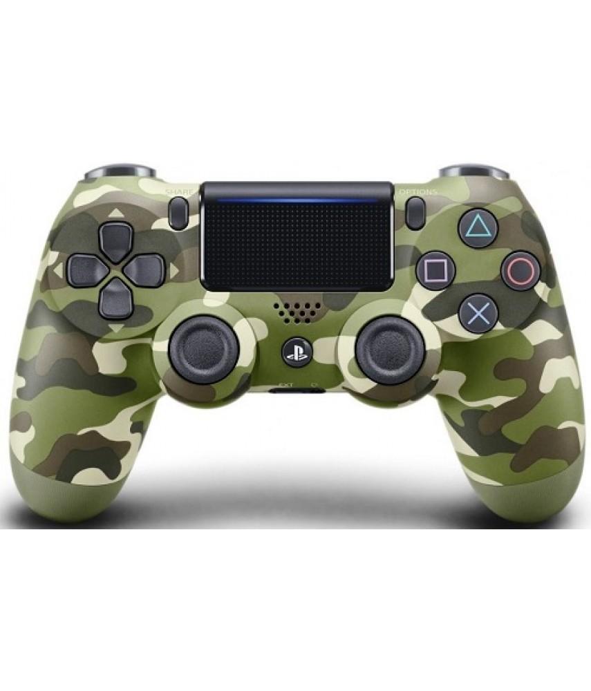 Геймпад DualShock 4 Green Camouflage для PS4