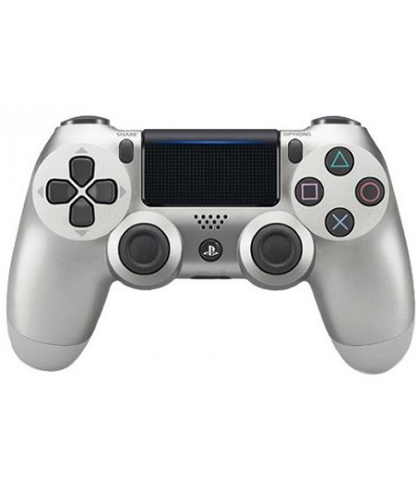 Геймпад DualShock 4 v2 для PS4 Silver