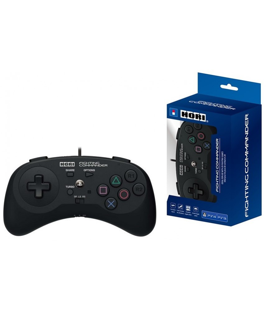 Проводной геймпад Hori Fighting Commander для PS3, PS4, PC