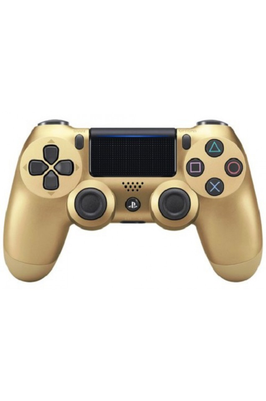 Геймпад DualShock 4 v2 Gold - беспроводной джойстик для PS4 (золотой)