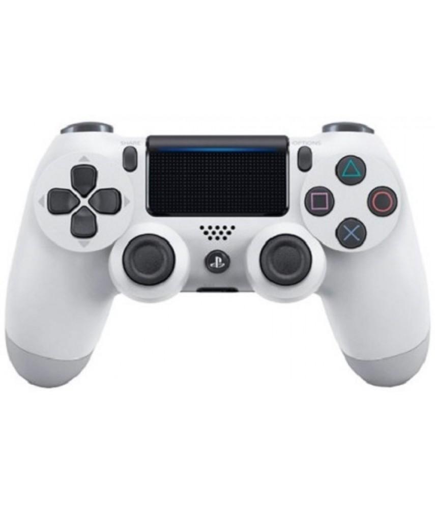 Геймпад DualShock 4 V2 White - беспроводной джойстик для PS4 (белый)