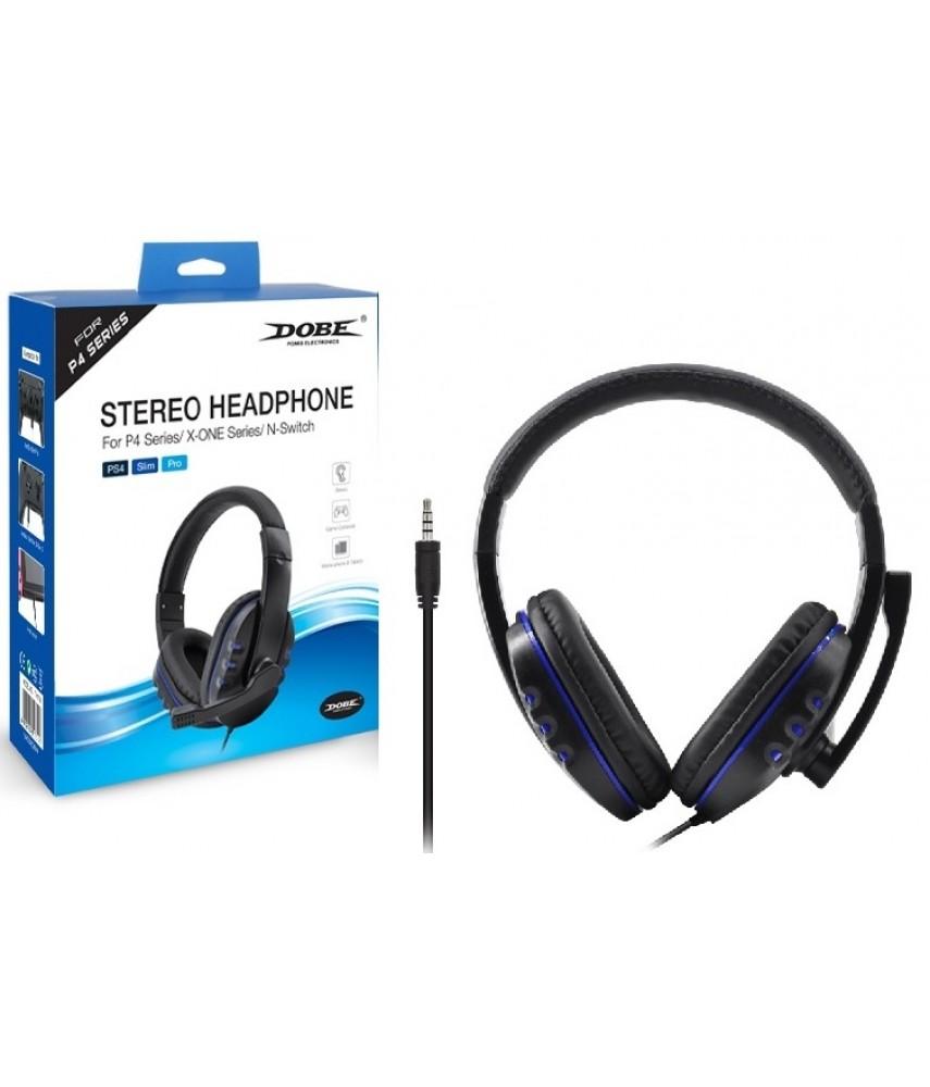 Гарнитура проводная 3 в 1 Stereo Gaming Headphone для WIN/PS4/Xbox One/Switch/Android/IOS (DOBE TY-1731)