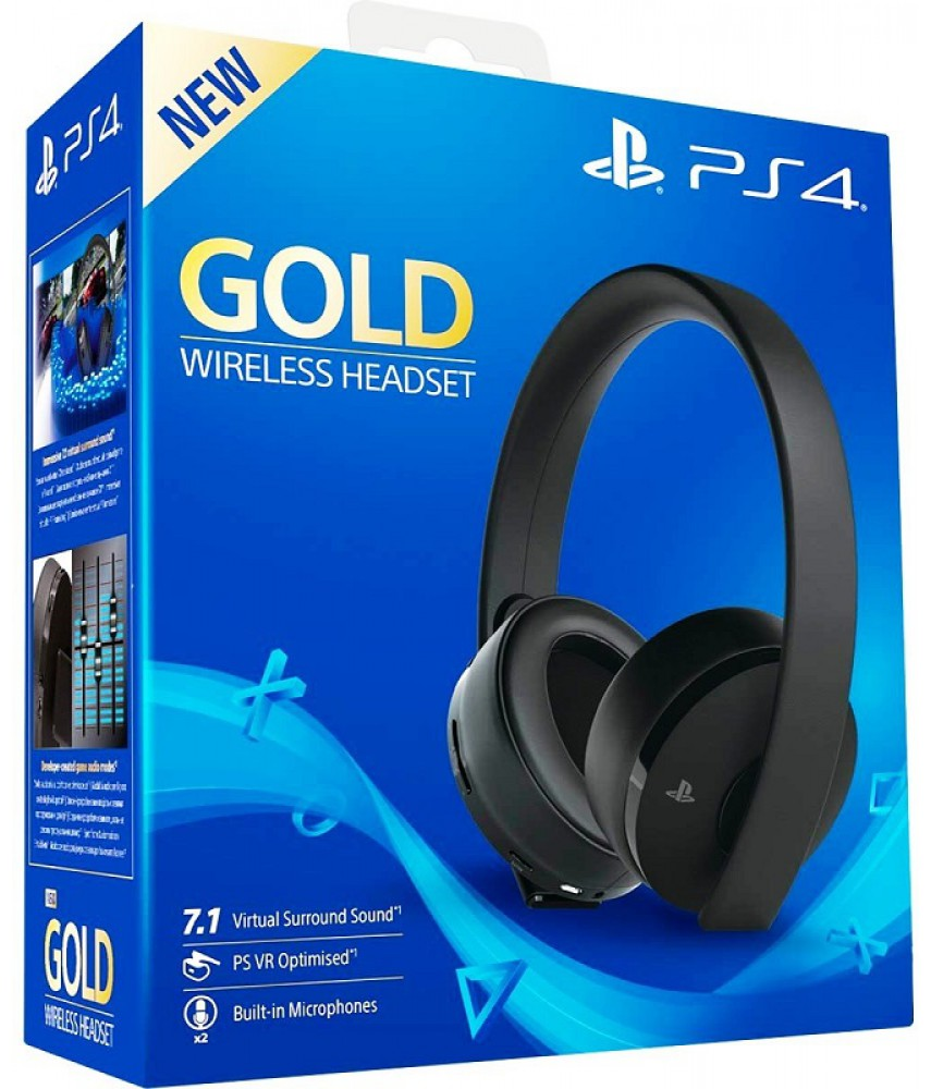 Gold Wireless Headset (PS4/PS VR)