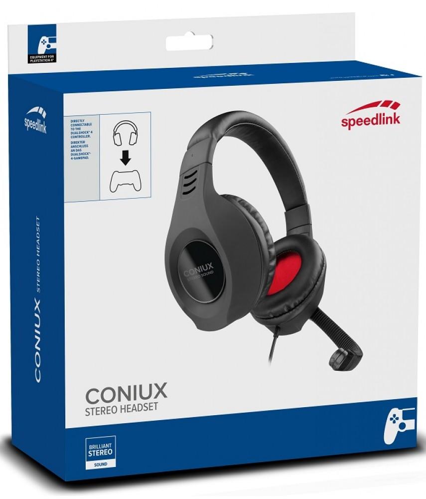 Игровая гарнитура Coniux Stereo Headset для PS4/Xbox One (Speedlink SL-4533-BK)