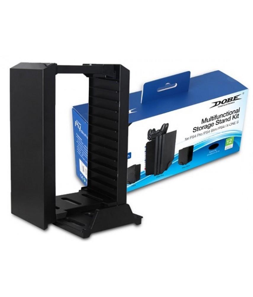 Универсальная подставка для PS4/PS4 Slim/PS4 Pro/Xbox One S (DOBE TP4-025)