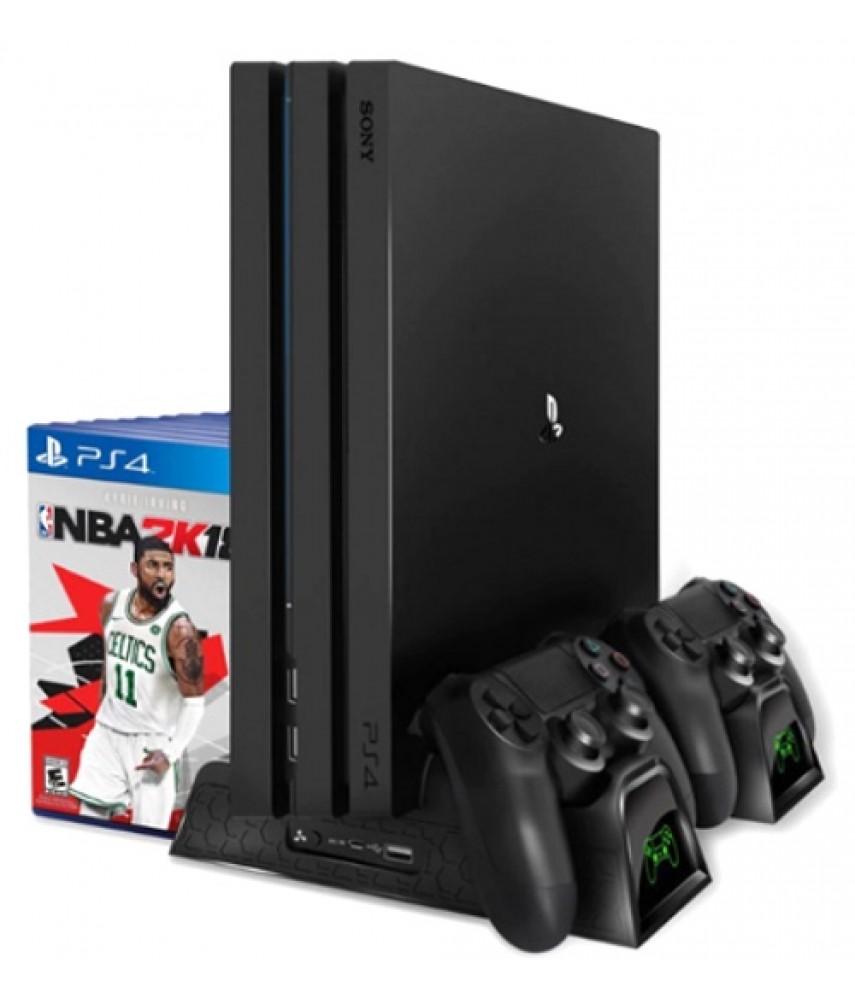 Универсальная вертикальная подставка для PS4 / PS4 Slim / PS4 Pro (TP4-1785/GP4-816)