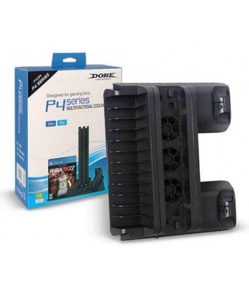 Универсальная вертикальная подставка для PS4 / PS4 Slim / PS4 Pro (DOBE TP4-882)