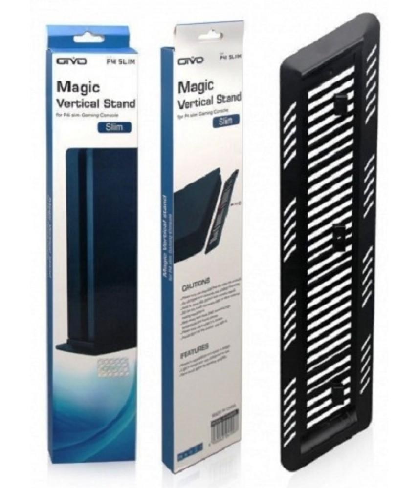 Вертикальная подставка для PS4 Slim (OIVO IV-P4S006) чёрная