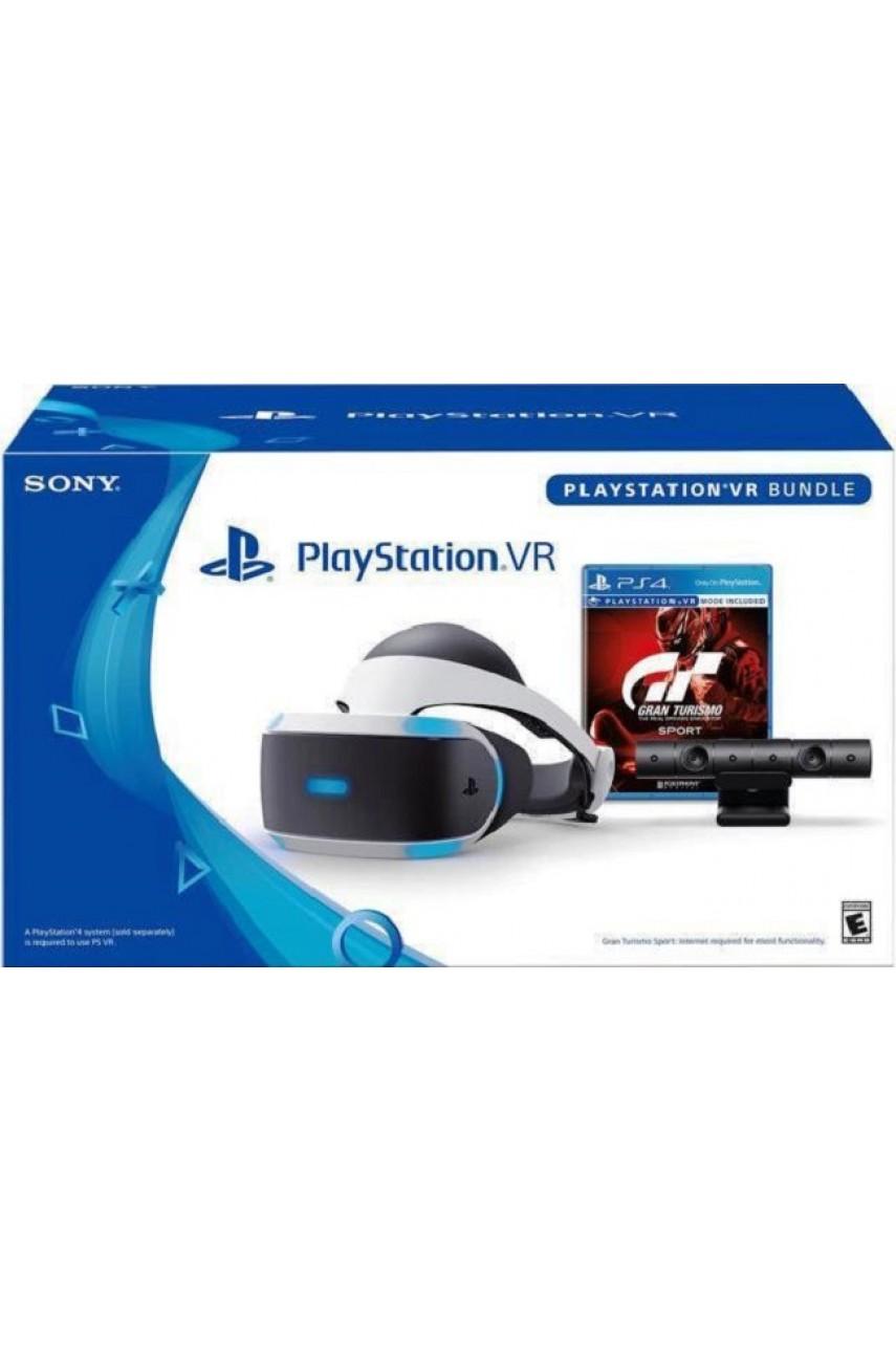 Sony PlayStation VR Шлем + камера + игра VR Gran Turismo Sport