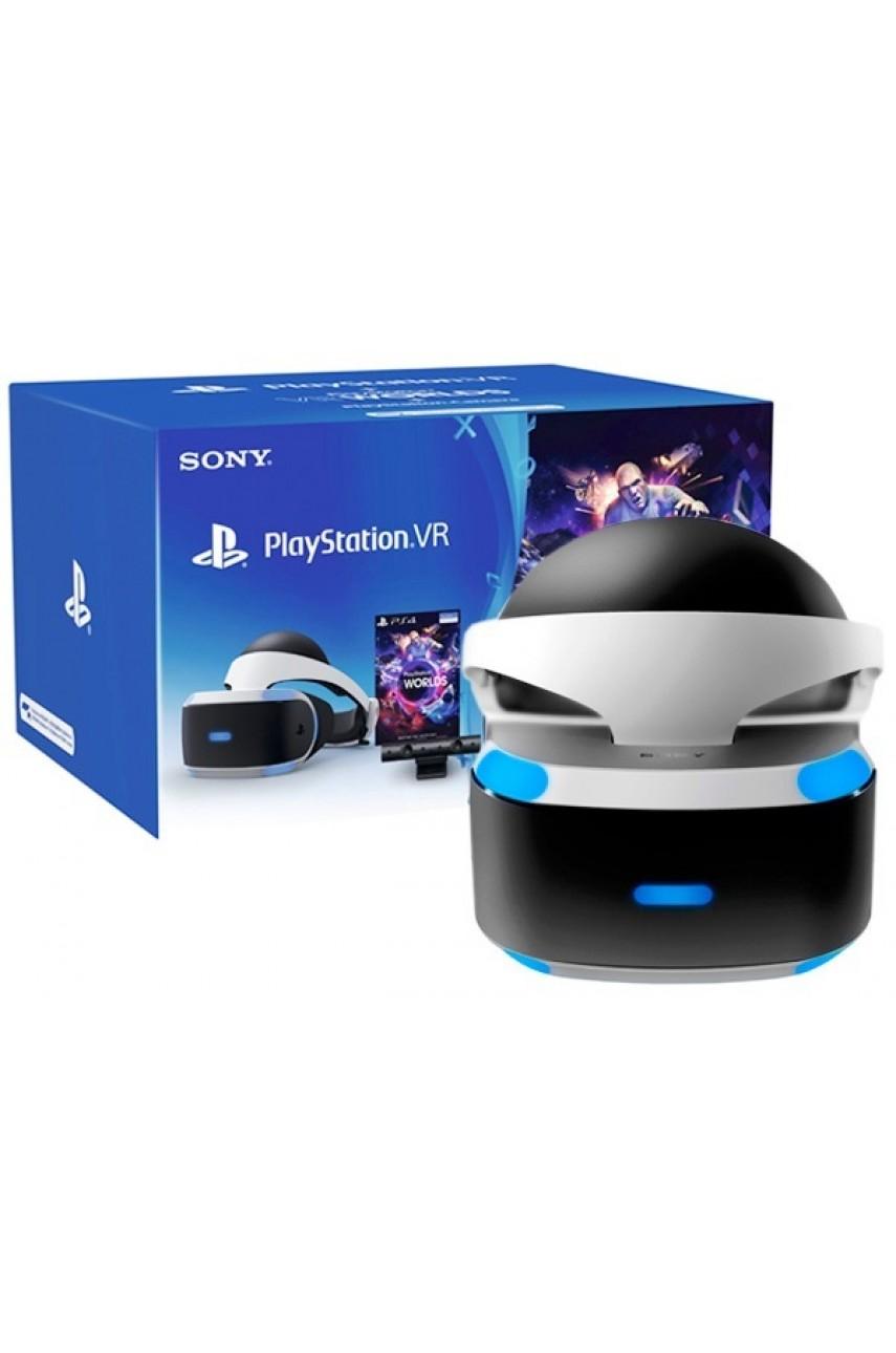 Шлем Sony PlayStation VR (V2) + камера + игра VR World