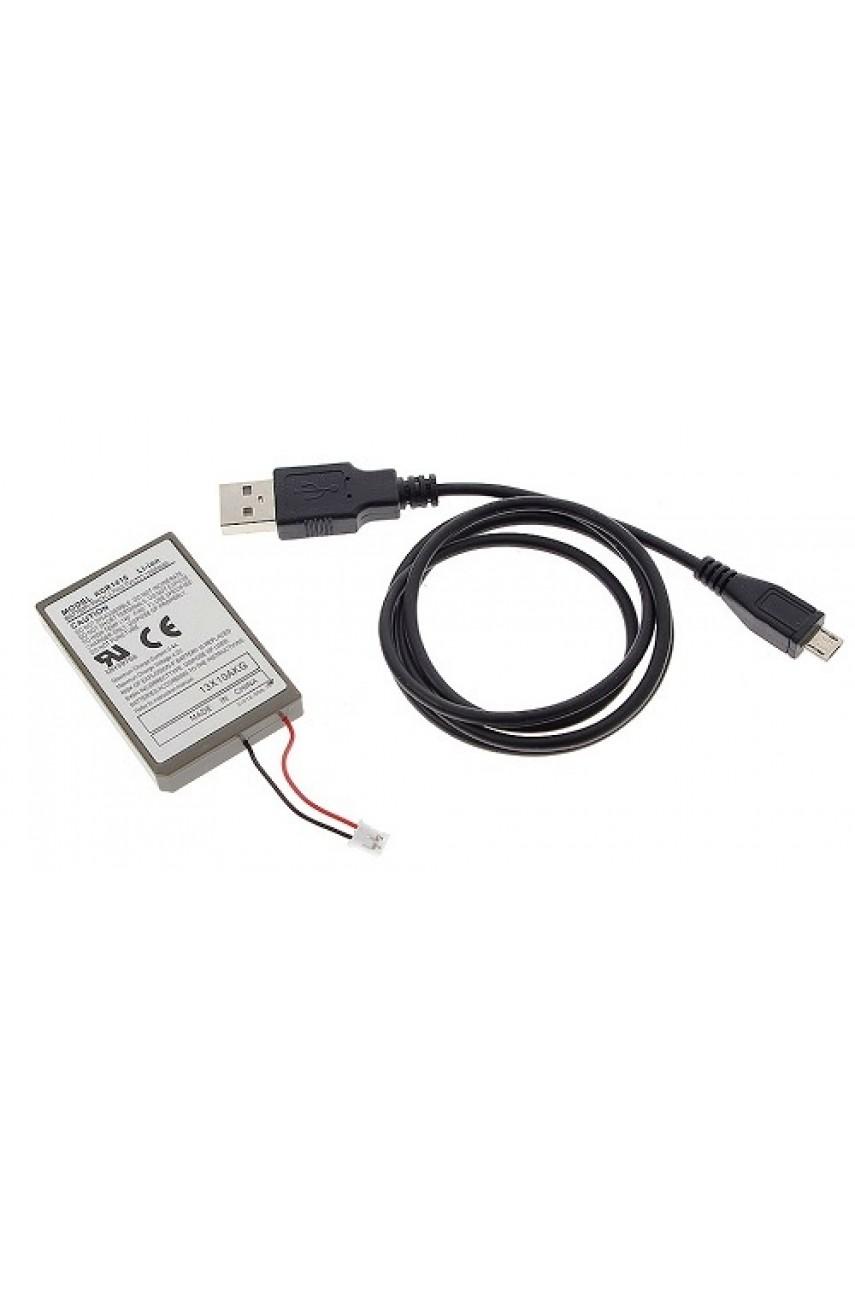 Аккумулятор для джойстика PS4 [Dualshock 4 v.1] (2000 mAh) + зарядный кабель
