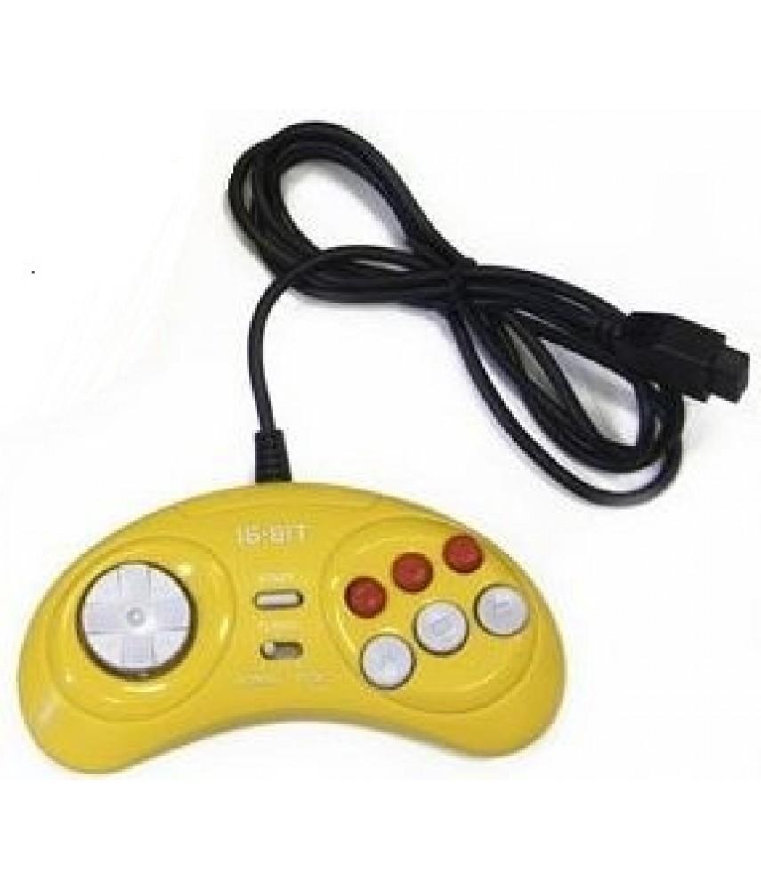 Джойстик для Сега (Sega) - 16 бит - Цветные
