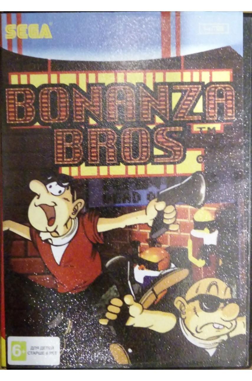 Bonanza Bros. [Sega]