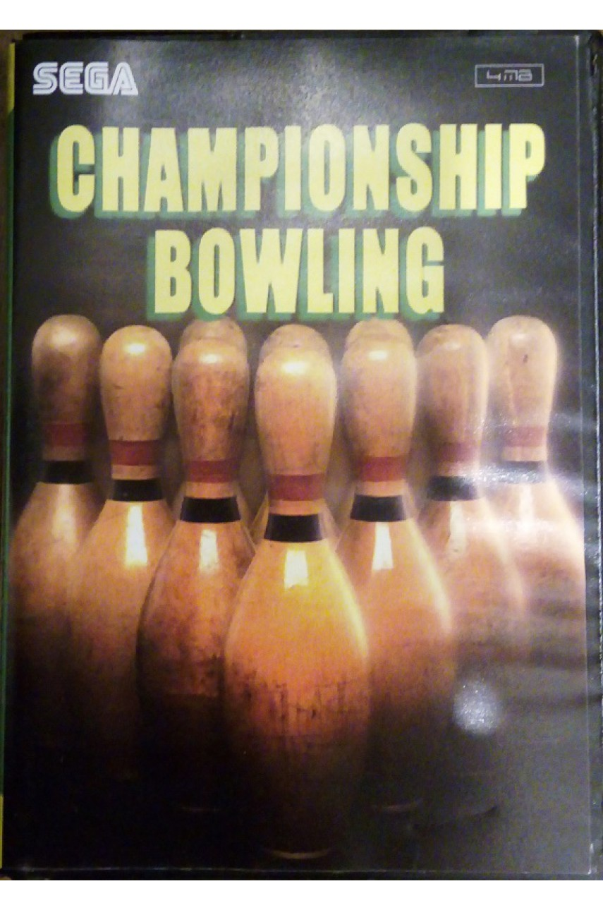 Championship Bowling [Sega]