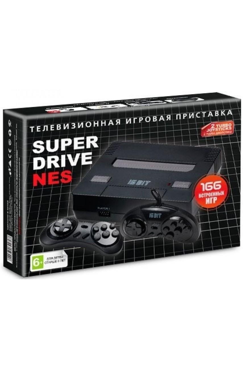 Sega Super Drive NES (166 игр)