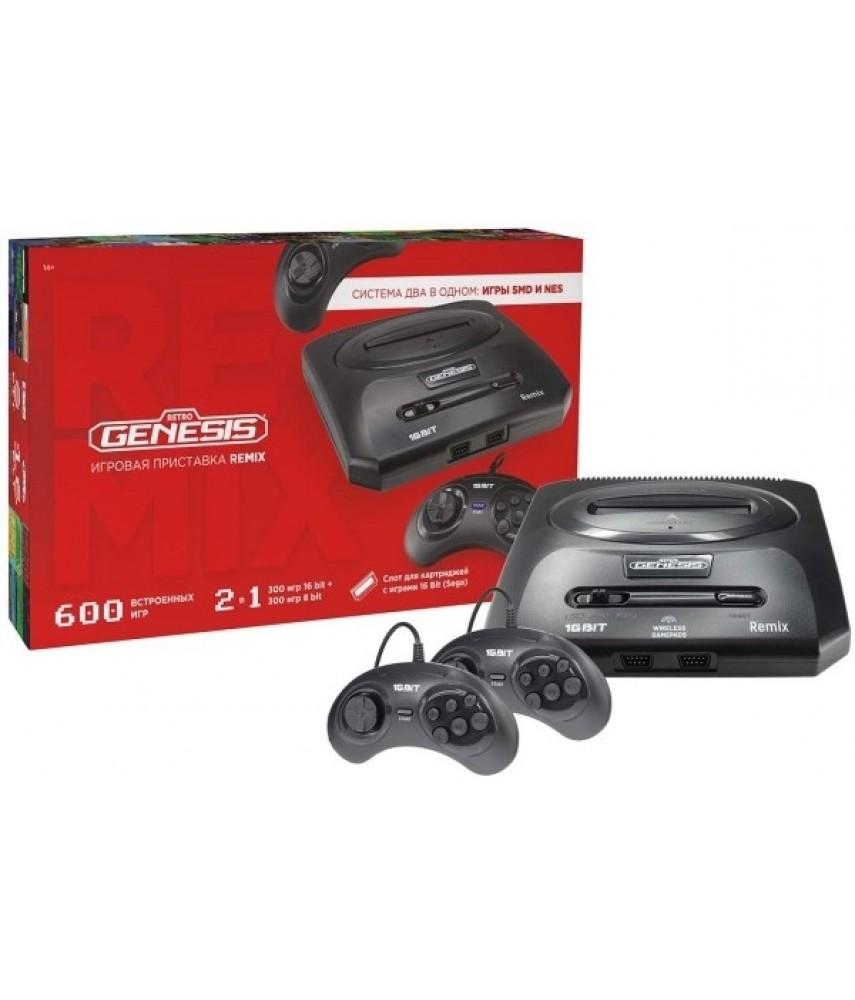 Retro Genesis Remix 8+16Bit (600 игр)