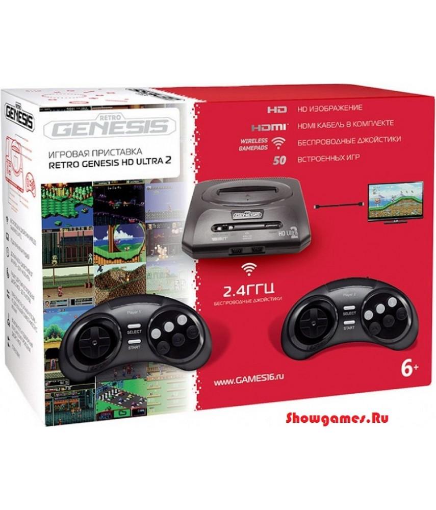Sega Retro Genesis HD Ultra 2 (50 игр)