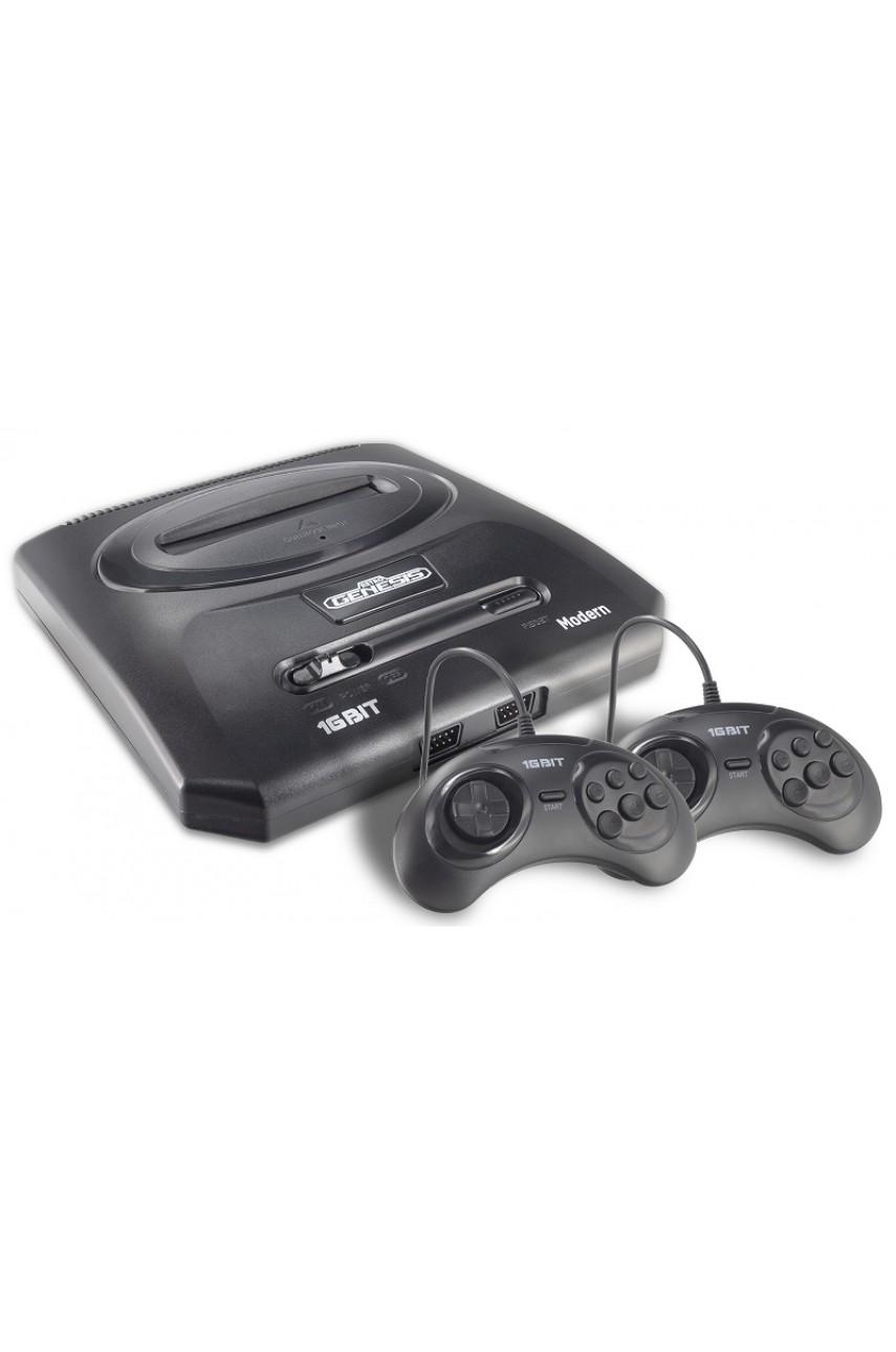 Игровая приставка Sega Retro Genesis Modern (300 игр) с 2-мя проводными джойстиками
