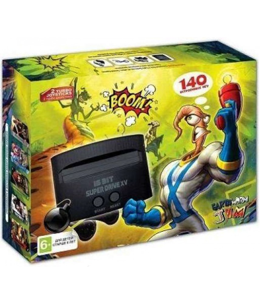 Sega Super Drive Earthworm Jim (140 игр)