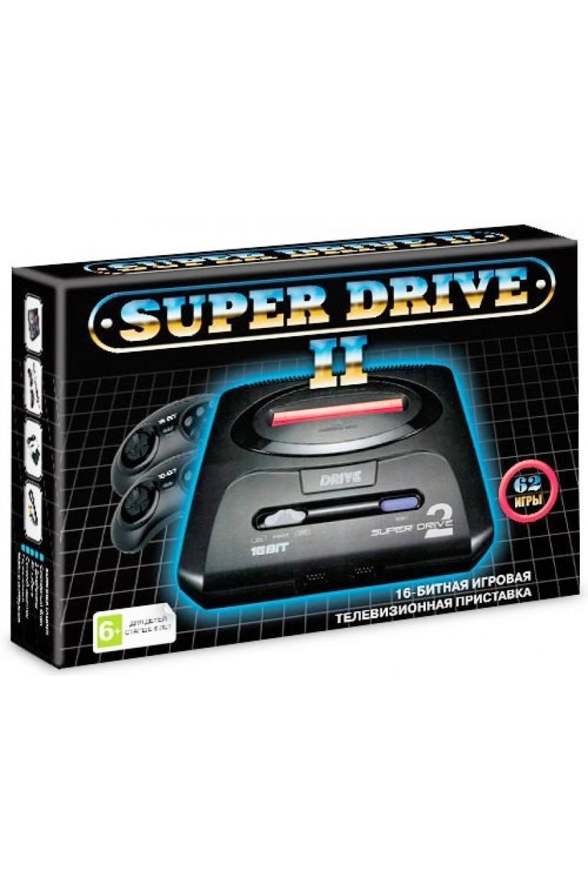 Sega Super Drive 2 Black (62 в 1)
