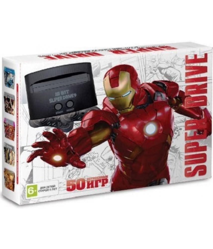 Sega Super Drive Iron Man + 50 игр