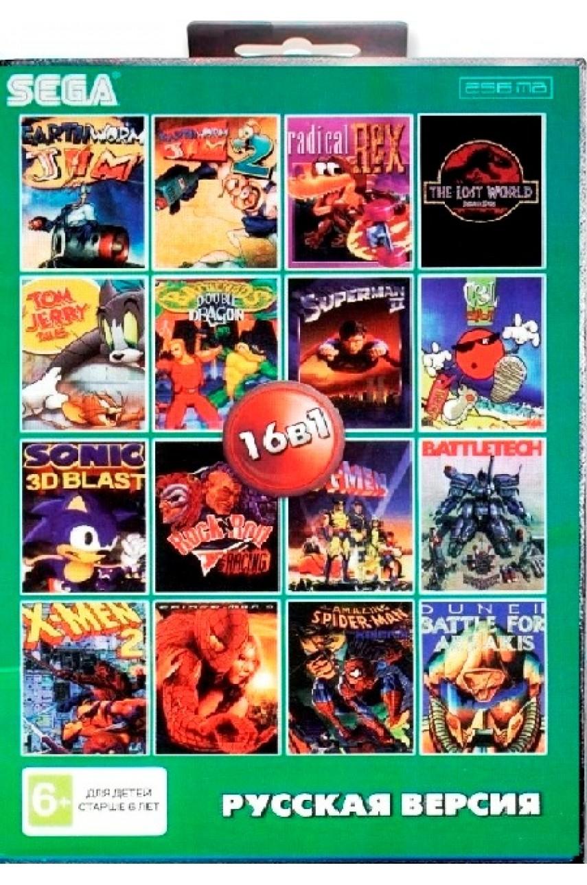 Сборник игр для Сеги 16 в 1 (BS-16002) [Sega]