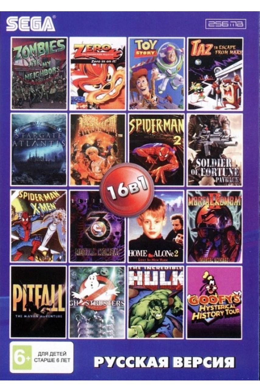 Сборник игр для Сеги 16 в 1 (AA-160001) [Sega]
