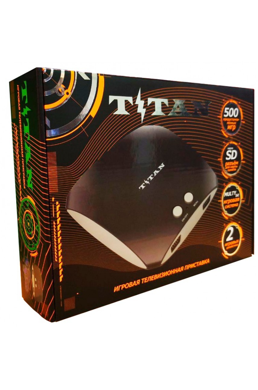 Магистр Titan 3 [Sega + Dendy] (500 игр)