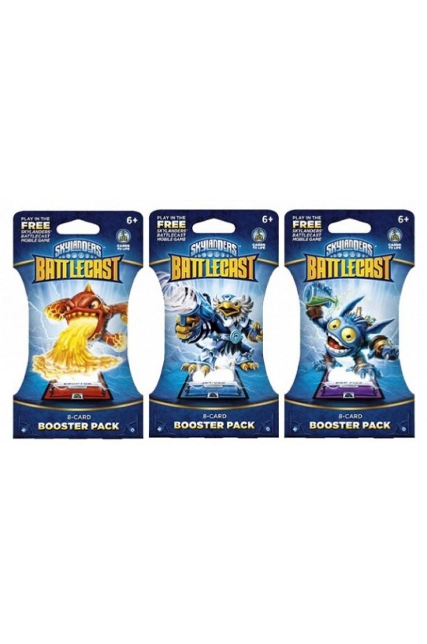 Набор из 8-ми карт Skylanders BattleCast