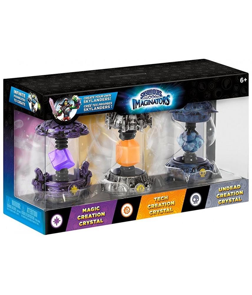 Набор кристаллов №1 (3 в 1) Skylanders Imaginators (Undead, Tech, Magic)