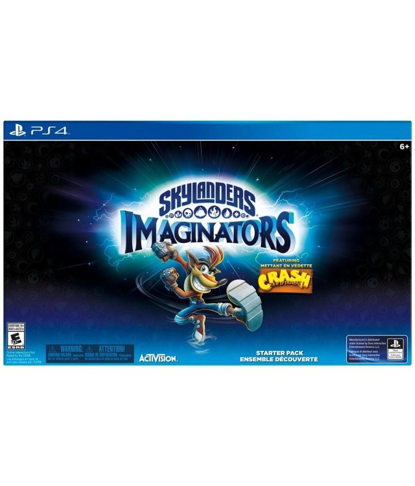 Skylanders Imaginators Стартовый набор Crash Edition (PS4)
