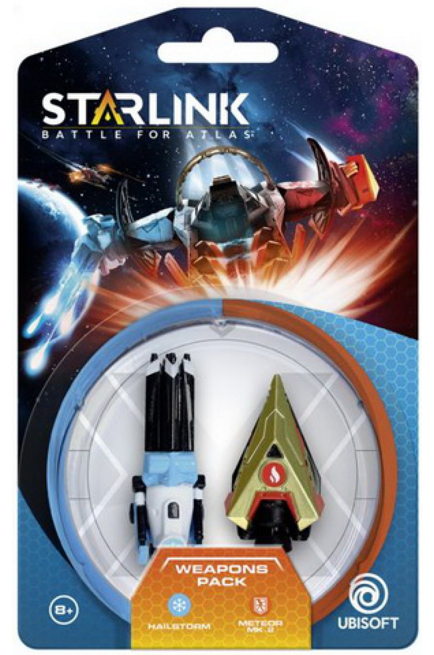 Starlink Battle for Atlas - Weapon Pack - Hailstorm and Meteor