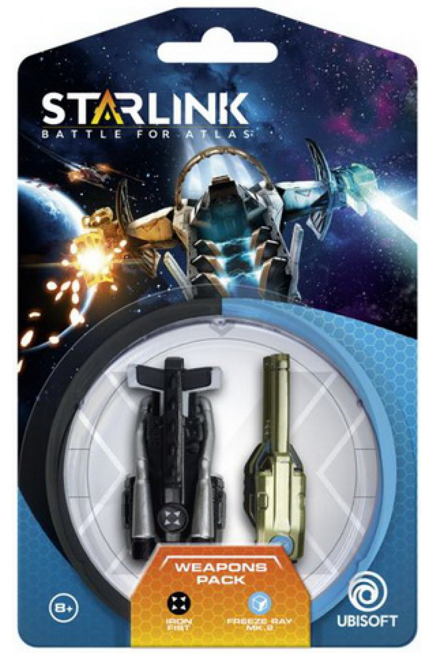 Starlink Battle for Atlas - Weapon Pack - Iron Fist and Freeze