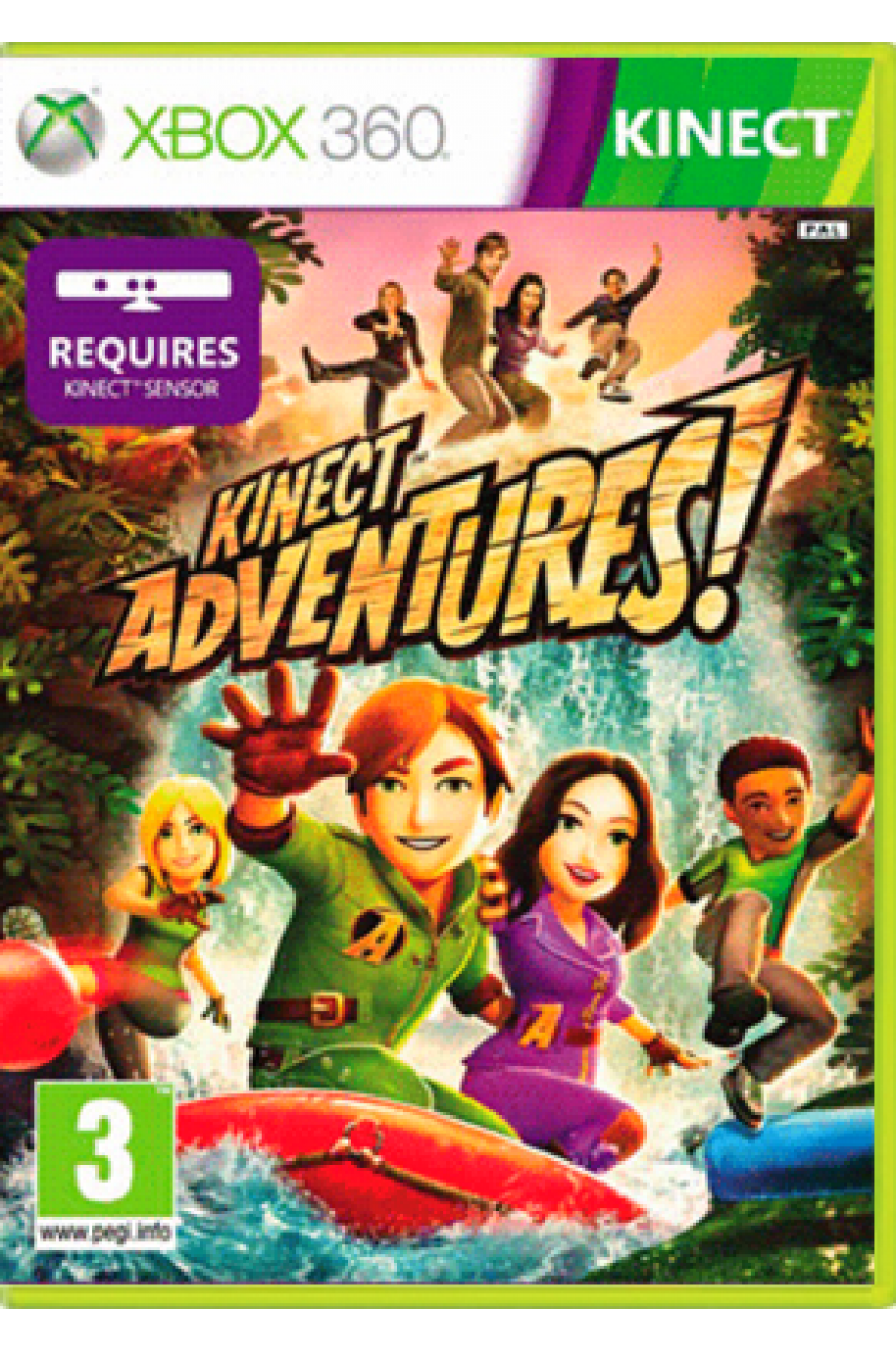 Kinect Adventures [Xbox 360, Kinect] - Б/У