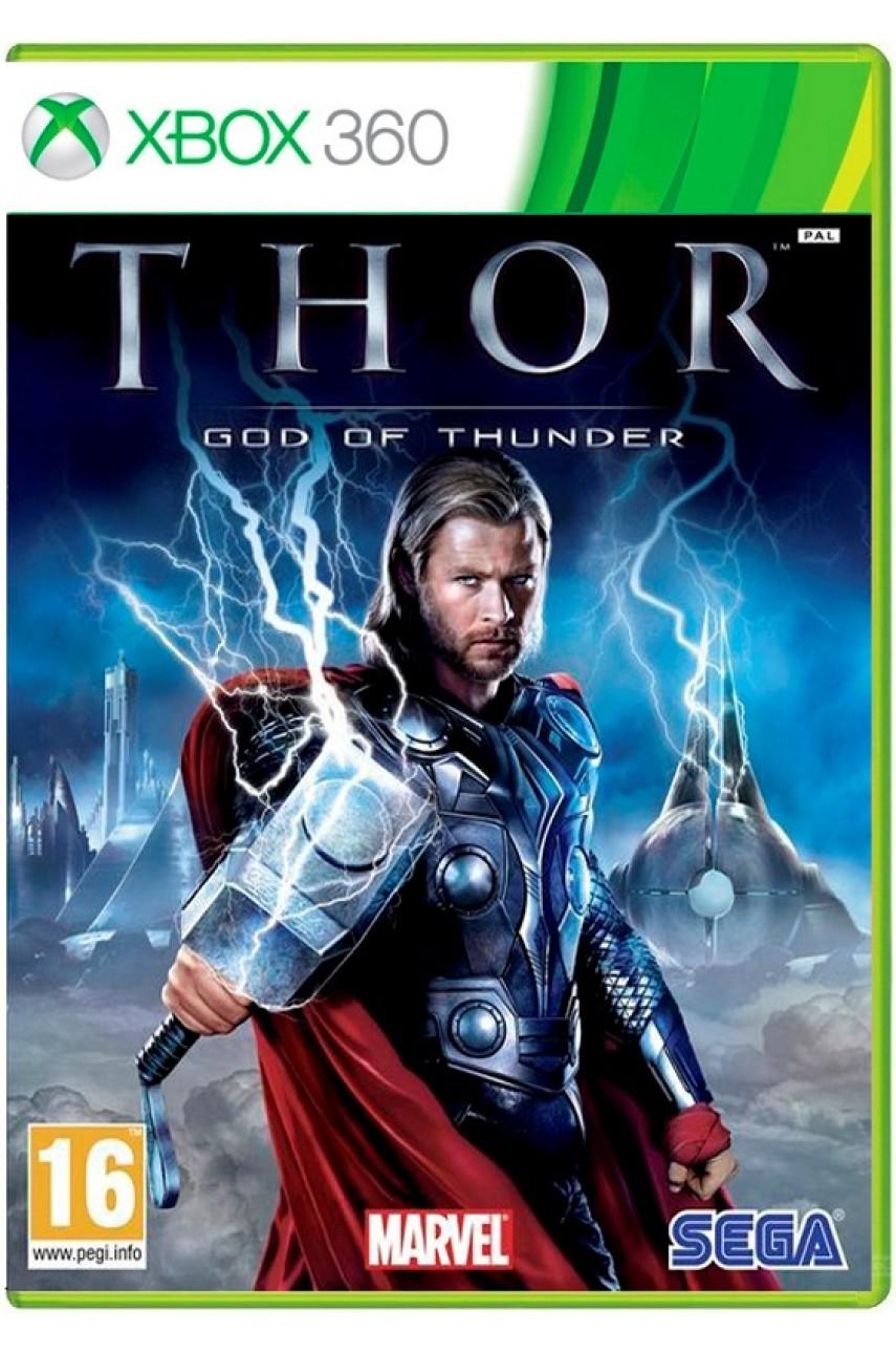 Thor God of Thunder [Xbox 360] - Б/У