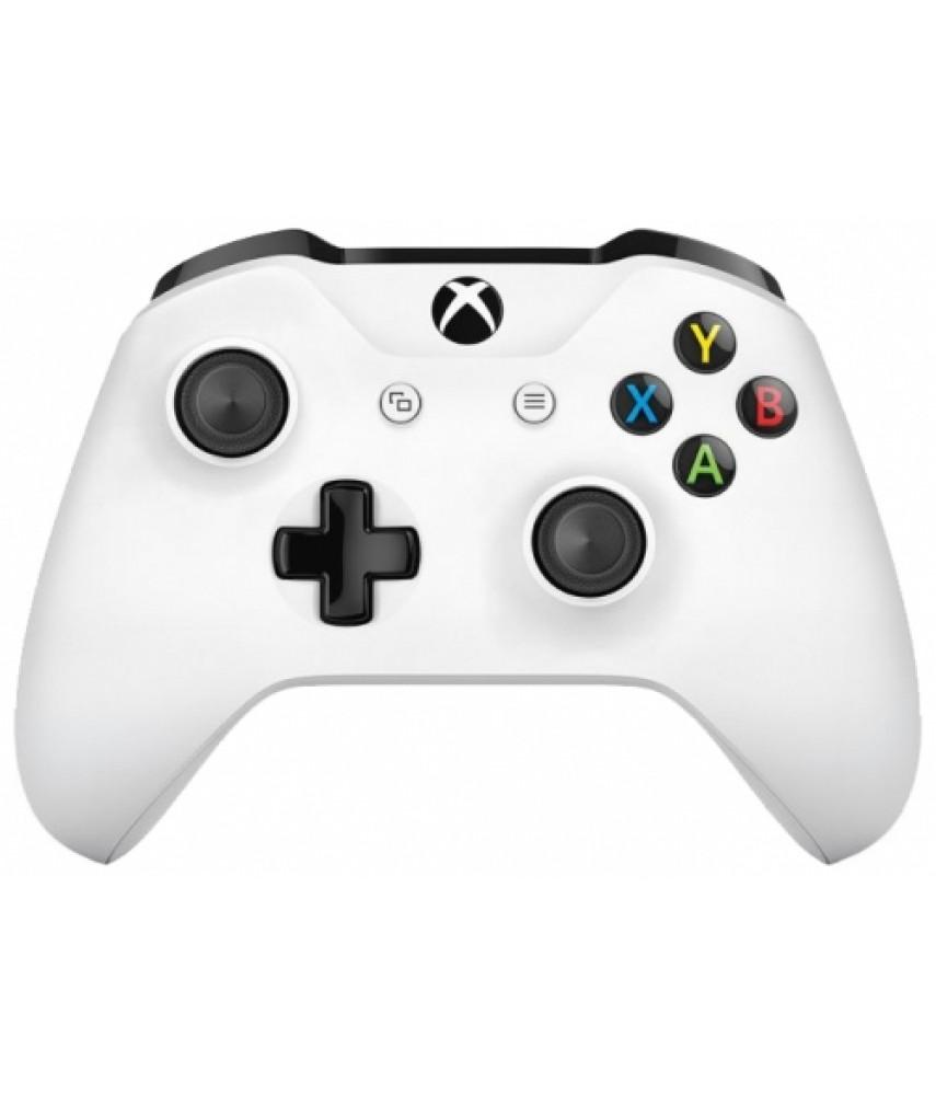 Джойстик Microsoft Xbox One S Wireless Controller (Белый)