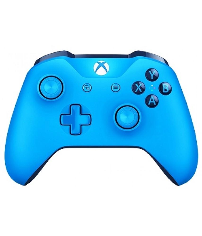 Беспроводной геймпад Xbox One Wireless Controller (синий)