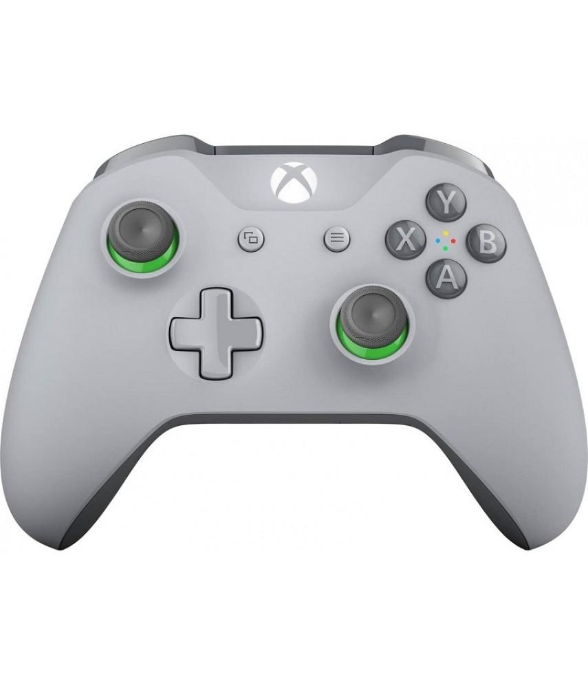 Беспроводной геймпад для Xbox One (Grey / Green)