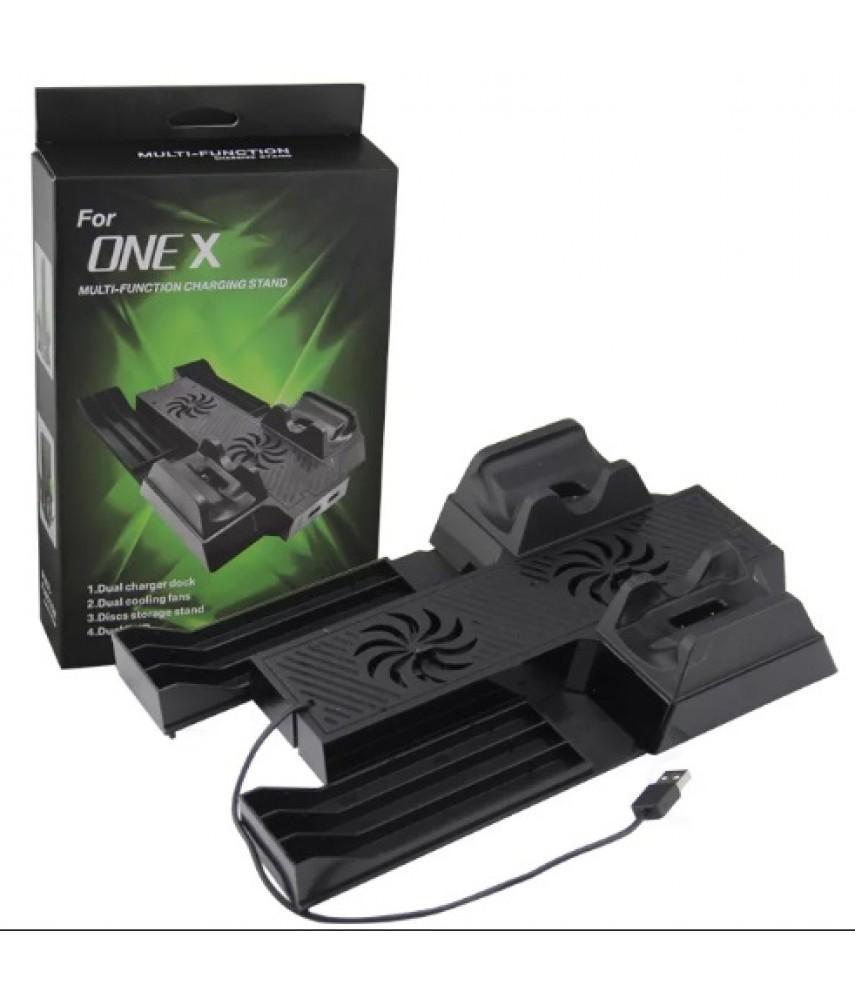 Подставка с охлаждением и зарядкой для Xbox One X (Mimd SND-398)