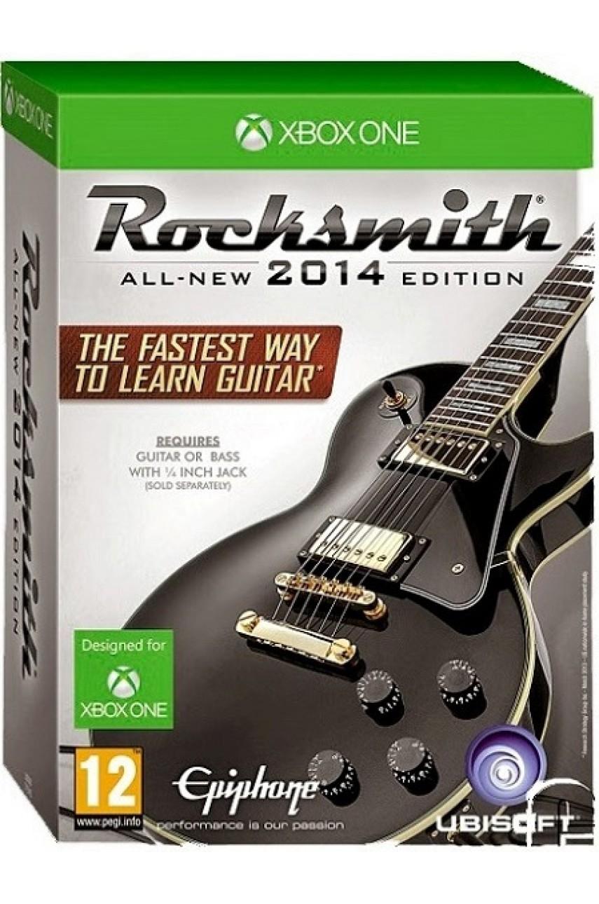 Rocksmith All-New 2014 Edition игра + кабель [Xbox One]